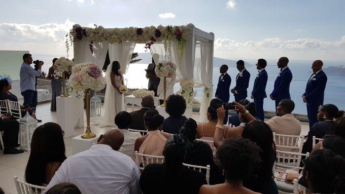 Destination Wedding in Santorini by Designer Wedding Planner - 013