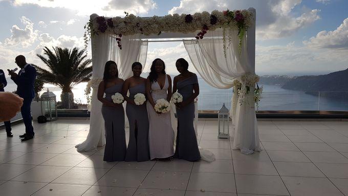 Destination Wedding in Santorini by Designer Wedding Planner - 017