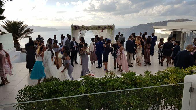 Destination Wedding in Santorini by Designer Wedding Planner - 034