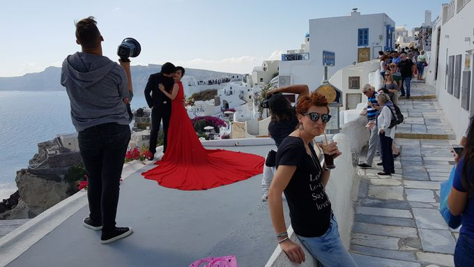 Destination Wedding in Santorini by Designer Wedding Planner - 026