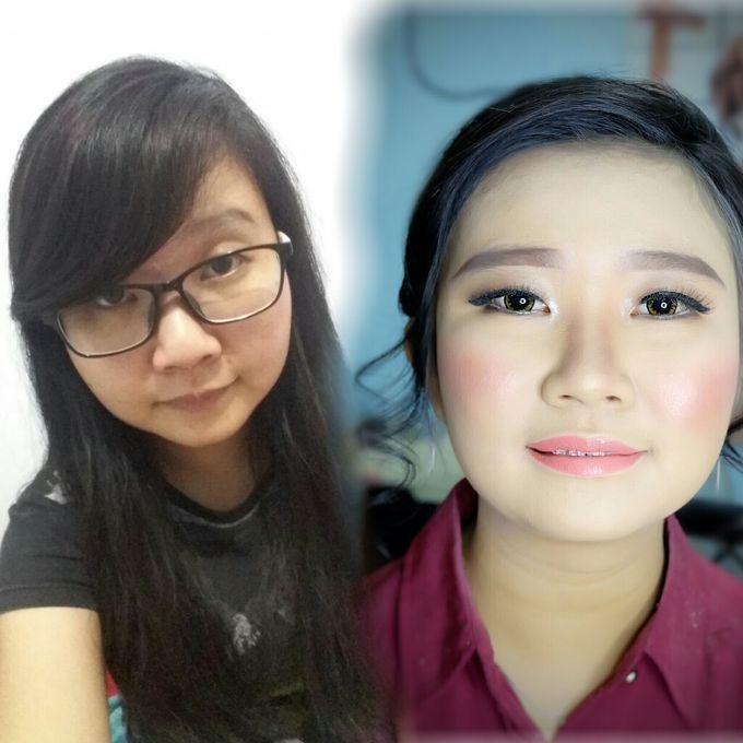 Graduation makeup by VidJei Makeup - 002
