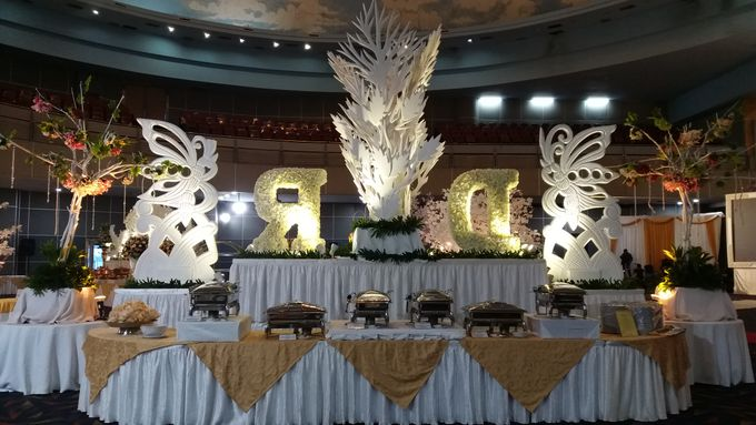 The wedding of Dewi & Robby by PUSPA CATERING - 003