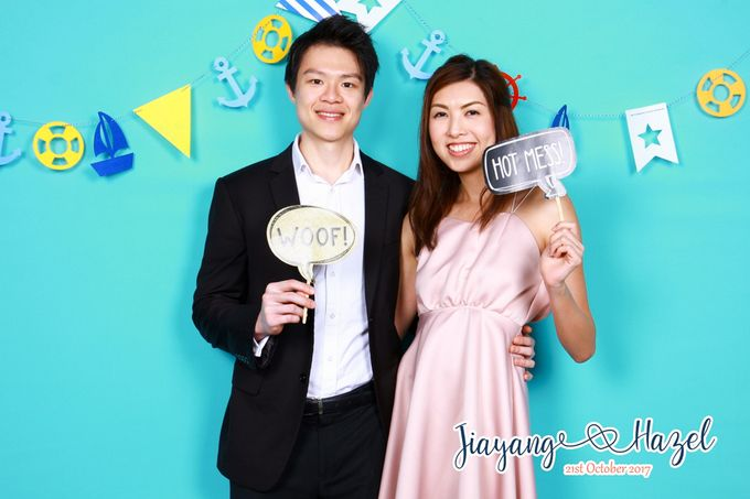 Jiayang & Hazel - Wedding Photo Booth by ONE°15 Marina Sentosa Cove, Singapore - 004
