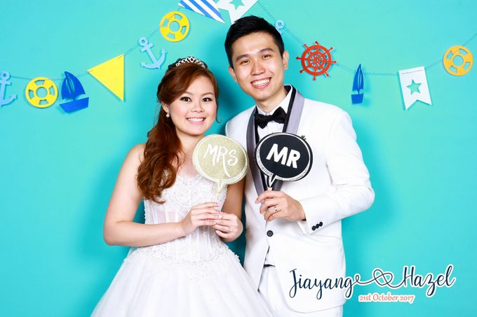 Jiayang & Hazel - Wedding Photo Booth by ONE°15 Marina Sentosa Cove, Singapore - 001