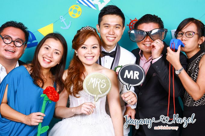 Jiayang & Hazel - Wedding Photo Booth by ONE°15 Marina Sentosa Cove, Singapore - 002