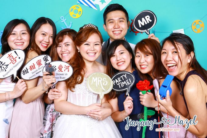 Jiayang & Hazel - Wedding Photo Booth by ONE°15 Marina Sentosa Cove, Singapore - 005