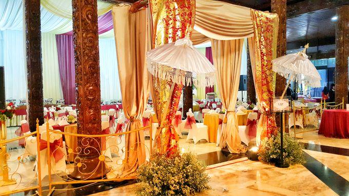 THE WEDDING OF WIRATAMA & SANITCA by PUSPA CATERING - 003