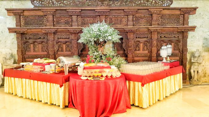 THE WEDDING OF WIRATAMA & SANITCA by PUSPA CATERING - 011
