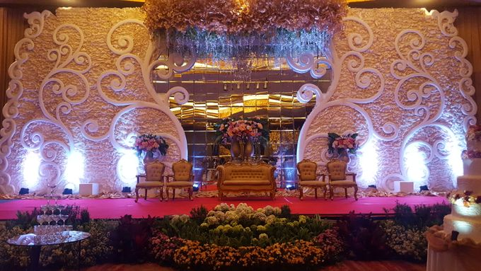 The Wedding Of Michael & Monica by Pelangi Cake - 011