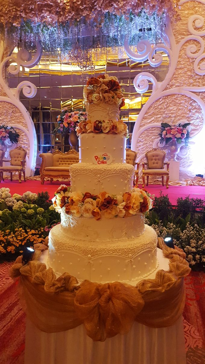 The Wedding Of Michael & Monica by Pelangi Cake - 012