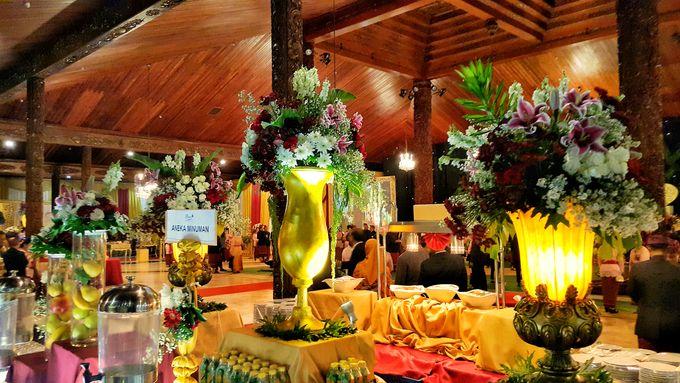 THE WEDDING OF WIRATAMA & SANITCA by PUSPA CATERING - 001