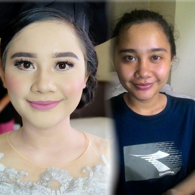 Graduation makeup by VidJei Makeup - 001