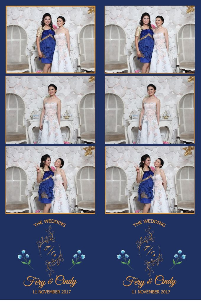 Ferry & Cindy by Twotone Photobooth - 001