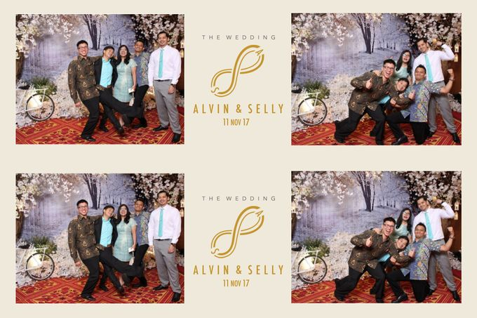 Alvin & Selly by Twotone Photobooth - 007
