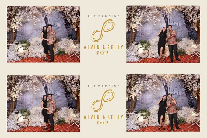 Alvin & Selly by Twotone Photobooth - 009