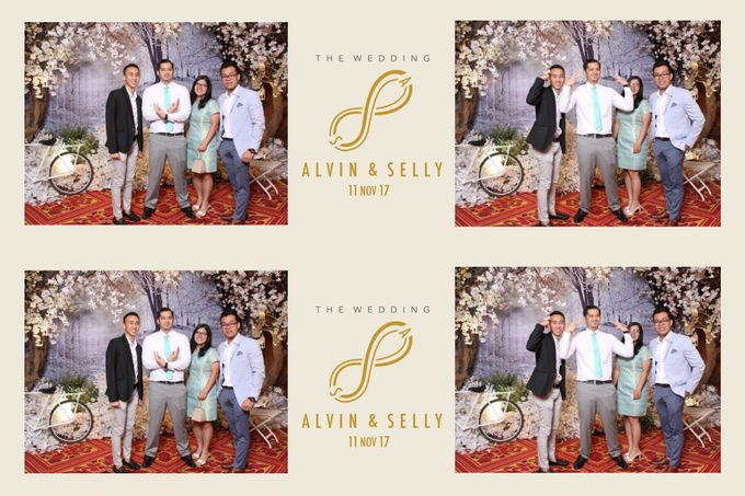 Alvin & Selly by Twotone Photobooth - 010