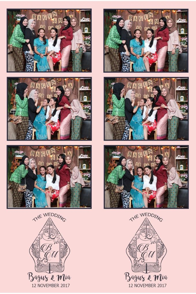 Bagus & Mia by Twotone Photobooth - 001