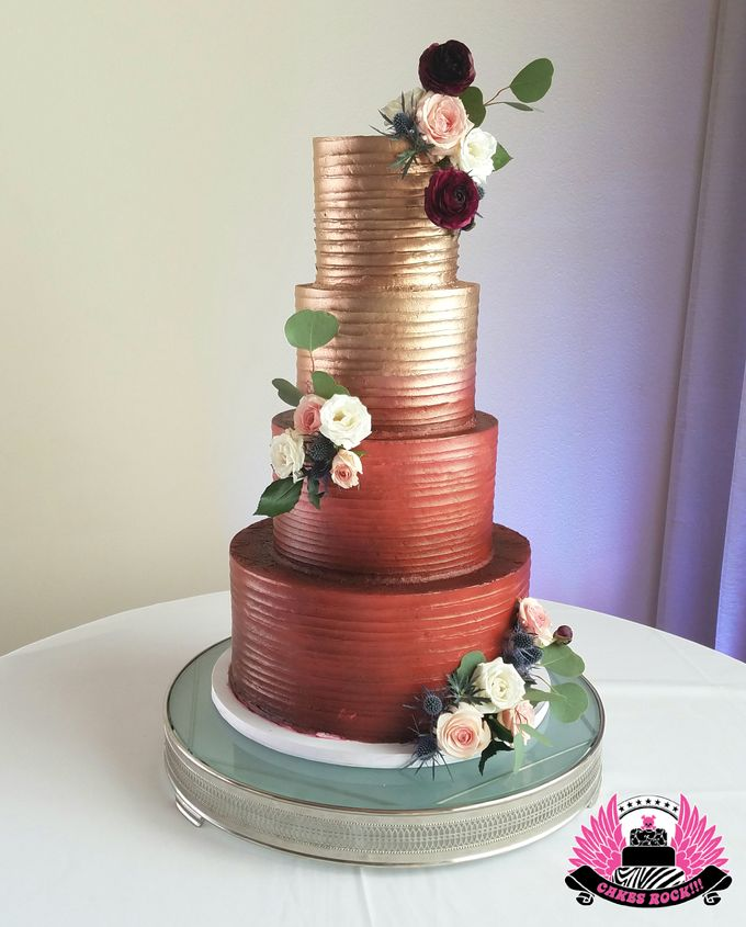 Wedding and Grooms' Cakes by Cakes ROCK!!! - 028