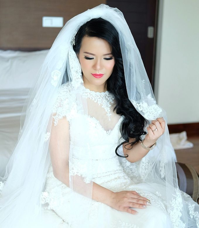 The Bride Ms.Melissa from Kuala Lumpur by Beyond Makeup Indonesia - 004