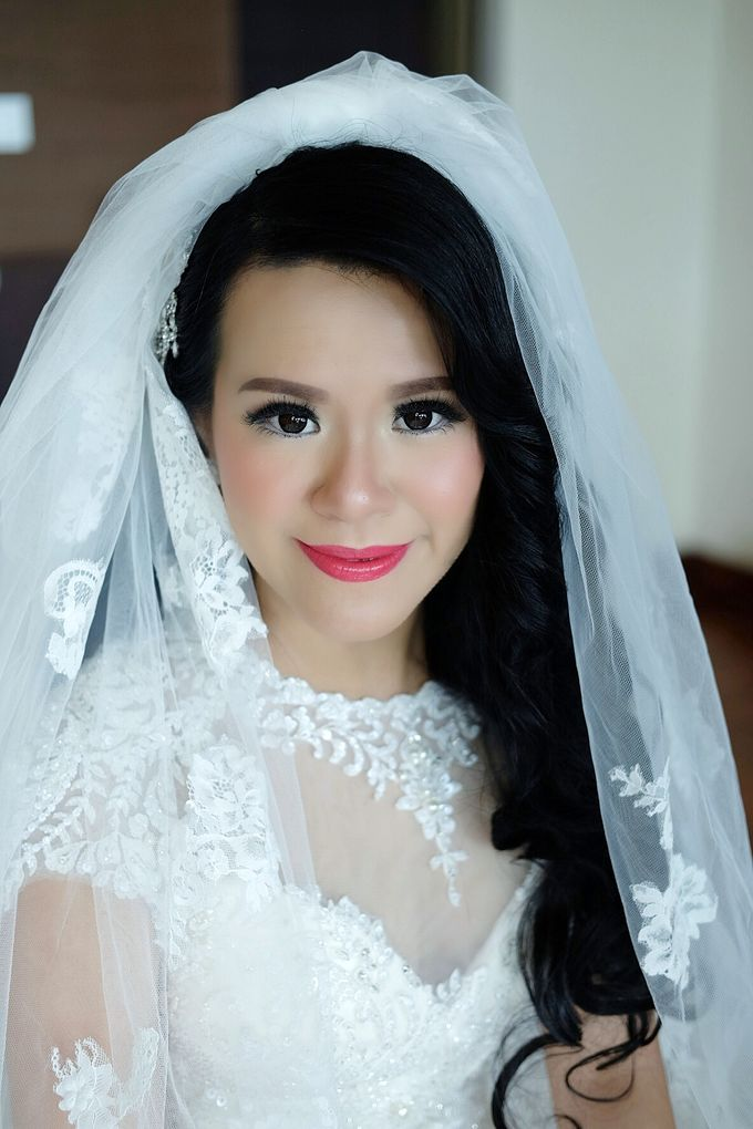 The Bride Ms.Melissa from Kuala Lumpur by Beyond Makeup Indonesia - 006