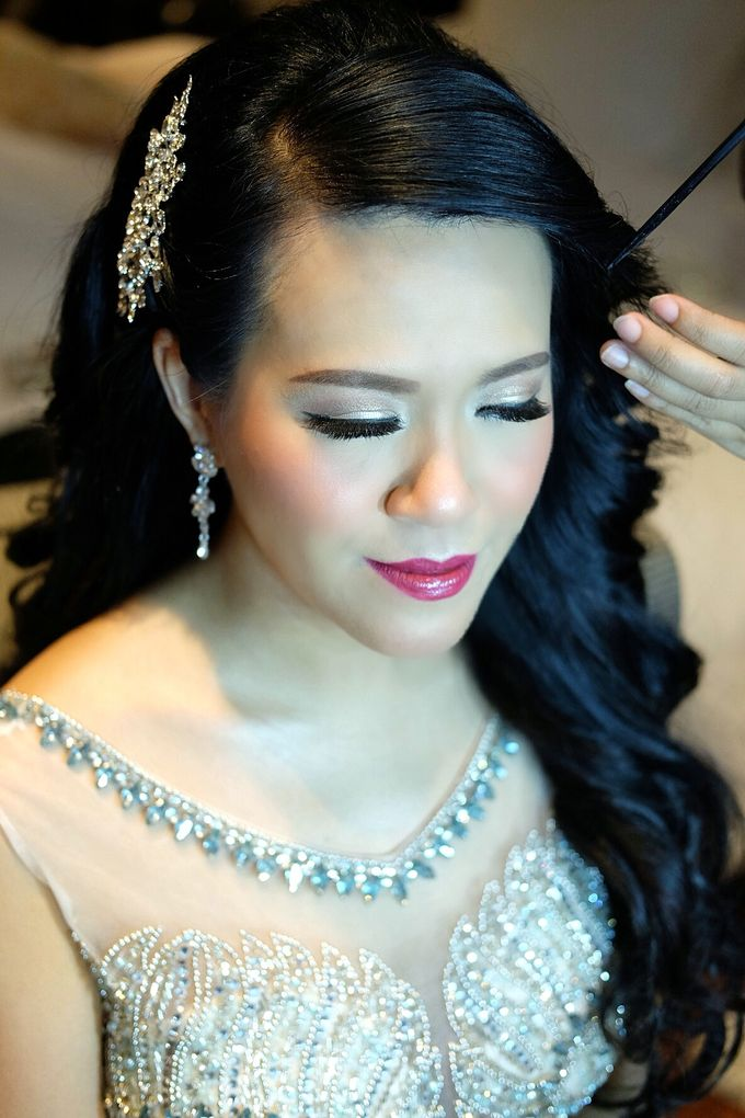 The Bride Ms.Melissa from Kuala Lumpur by Beyond Makeup Indonesia - 007