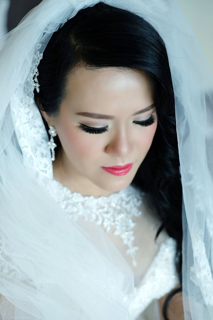 The Bride Ms.Melissa from Kuala Lumpur by Beyond Makeup Indonesia - 003