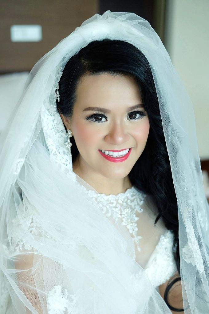 The Bride Ms.Melissa from Kuala Lumpur by Beyond Makeup Indonesia - 002