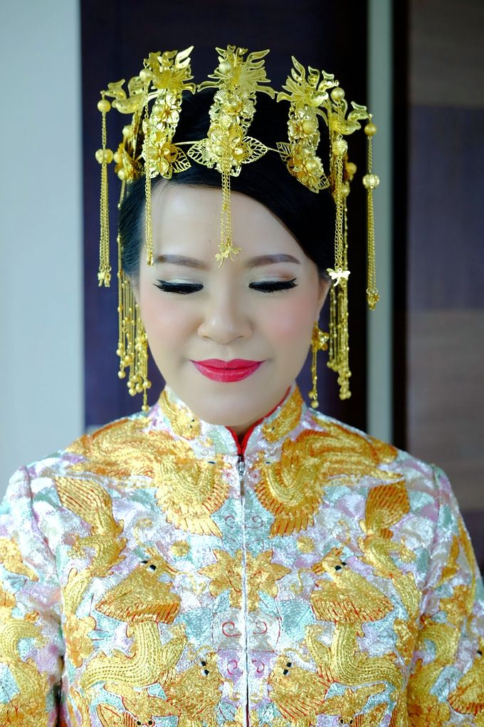 The Bride Ms.Melissa from Kuala Lumpur by Beyond Makeup Indonesia - 009