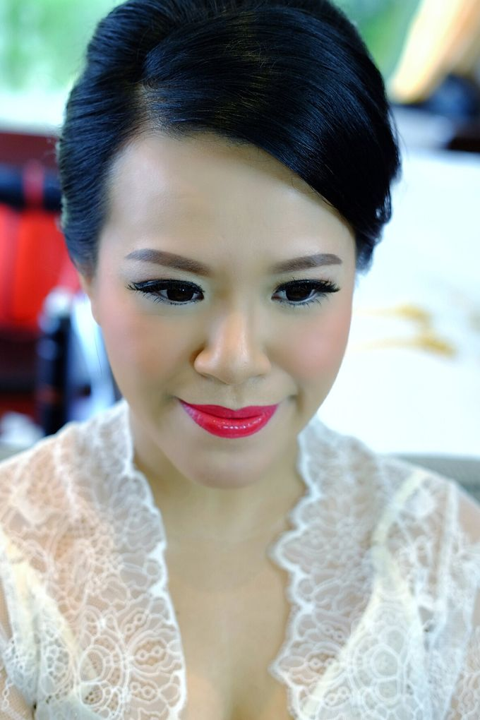 The Bride Ms.Melissa from Kuala Lumpur by Beyond Makeup Indonesia - 010