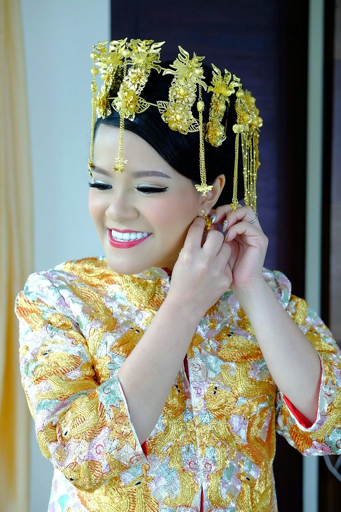 The Bride Ms.Melissa from Kuala Lumpur by Beyond Makeup Indonesia - 012