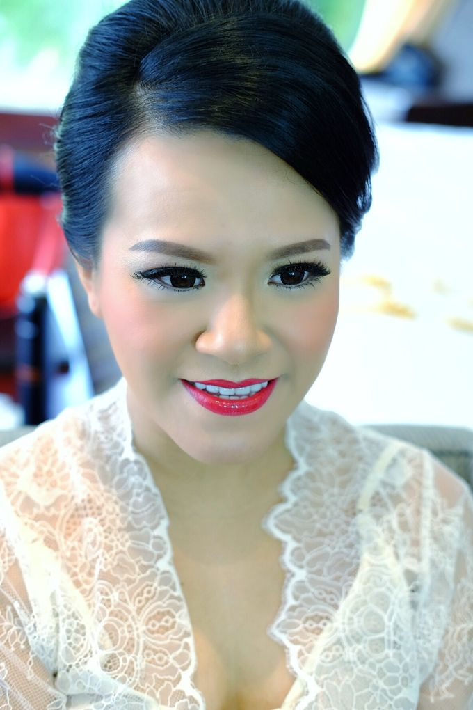The Bride Ms.Melissa from Kuala Lumpur by Beyond Makeup Indonesia - 001