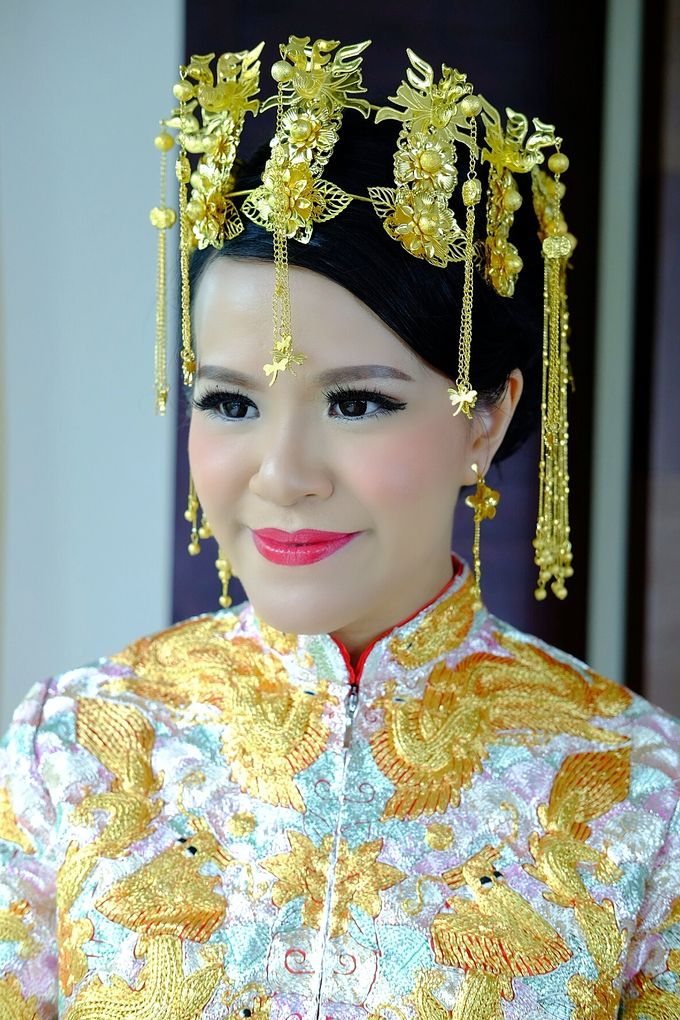 The Bride Ms.Melissa from Kuala Lumpur by Beyond Makeup Indonesia - 011