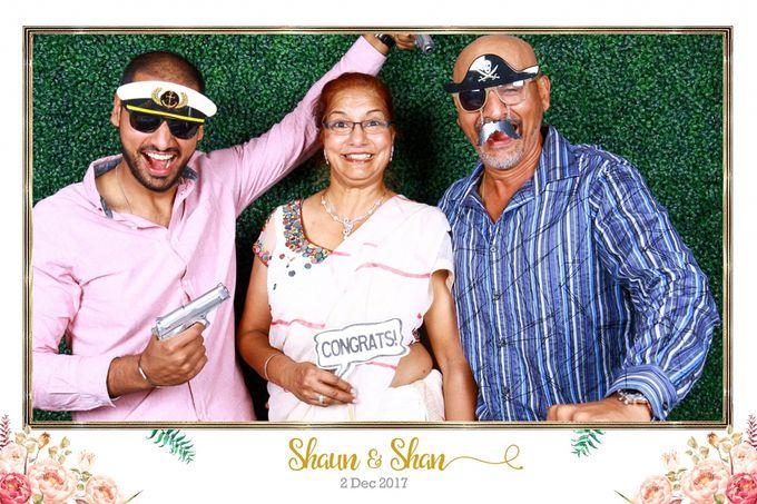 Shaun & Shan Wedding Photo Booth by Changi Cove Singapore - 003