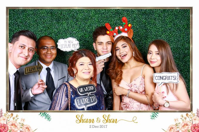 Shaun & Shan Wedding Photo Booth by Changi Cove Singapore - 006