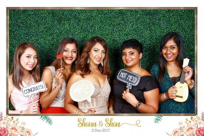 Shaun & Shan Wedding Photo Booth by Changi Cove Singapore - 002