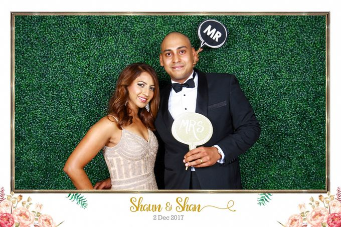 Shaun & Shan Wedding Photo Booth by Changi Cove Singapore - 001