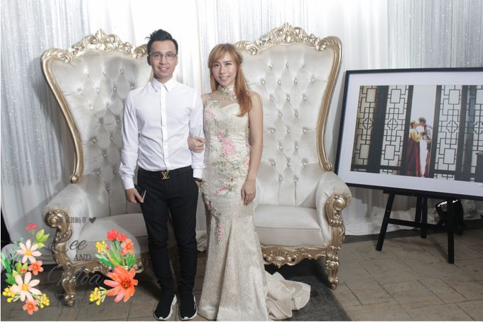 LEE & MOA WEDDING by snaphot official photobooth - 001