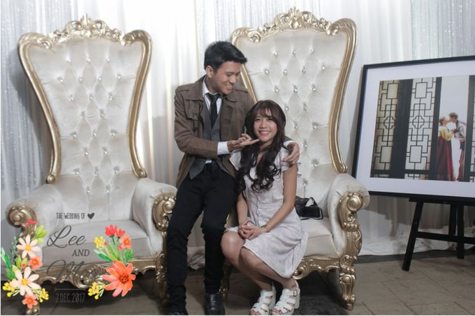 LEE & MOA WEDDING by snaphot official photobooth - 002