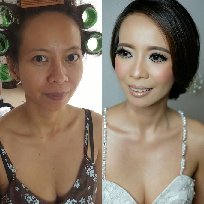 Bridal Makeup for Anneke Vera by Beyond Makeup Indonesia - 007