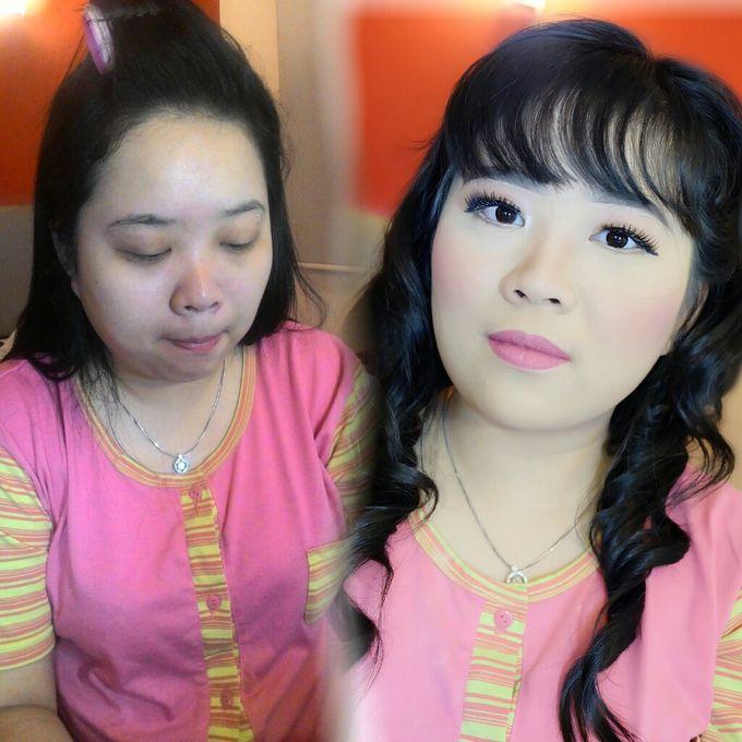 Makeup Bridesmaid by VidJei Makeup - 006