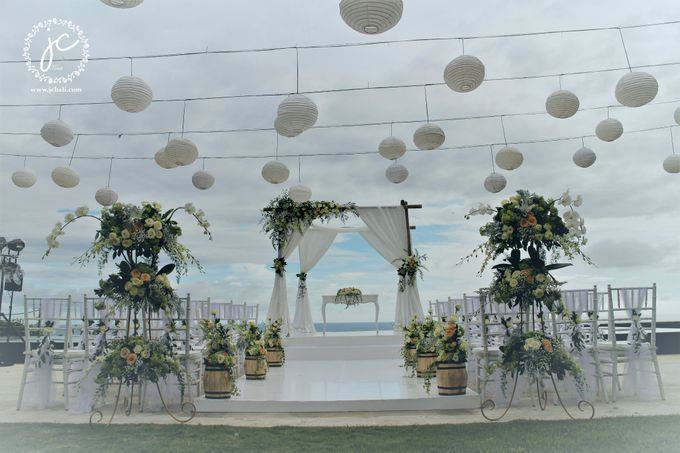 Water Wedding Decoration by Jc Florist Bali - 004