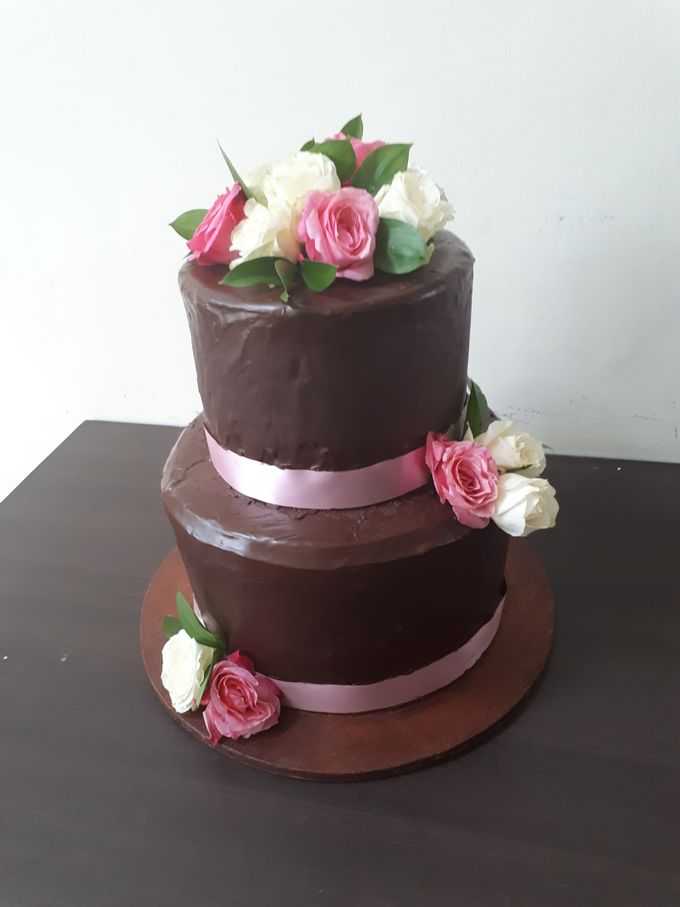 Chocolateeee..... Yummmm But Elegance by Sugaria cake - 001