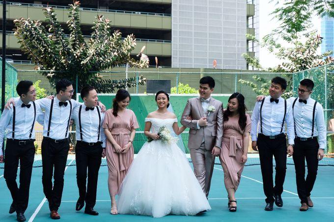 Paulus & Ria Wedding at Ascott Jakarta by Jesblossom House Of Flower - 002
