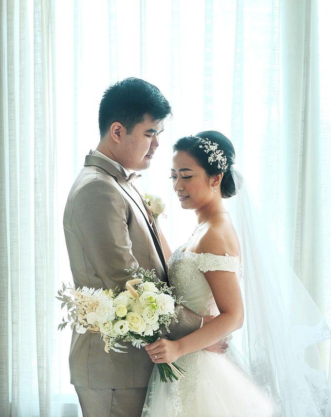 Paulus & Ria Wedding at Ascott Jakarta by Jesblossom House Of Flower - 003