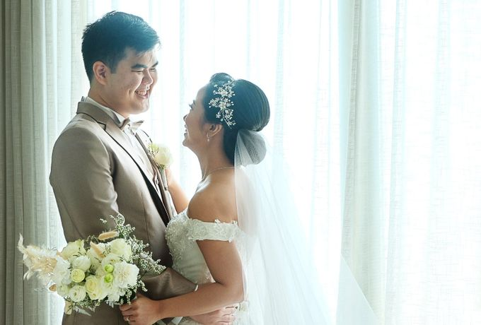 Paulus & Ria Wedding at Ascott Jakarta by Jesblossom House Of Flower - 004