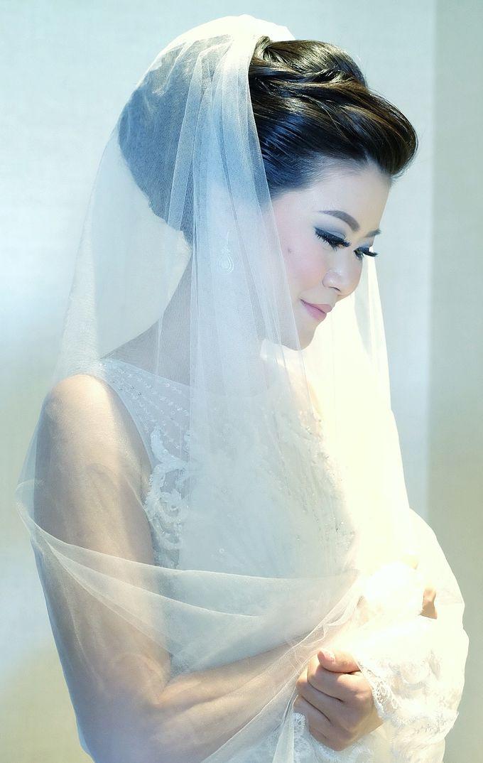 Bridal Makeup for Melinda by Beyond Makeup Indonesia - 005