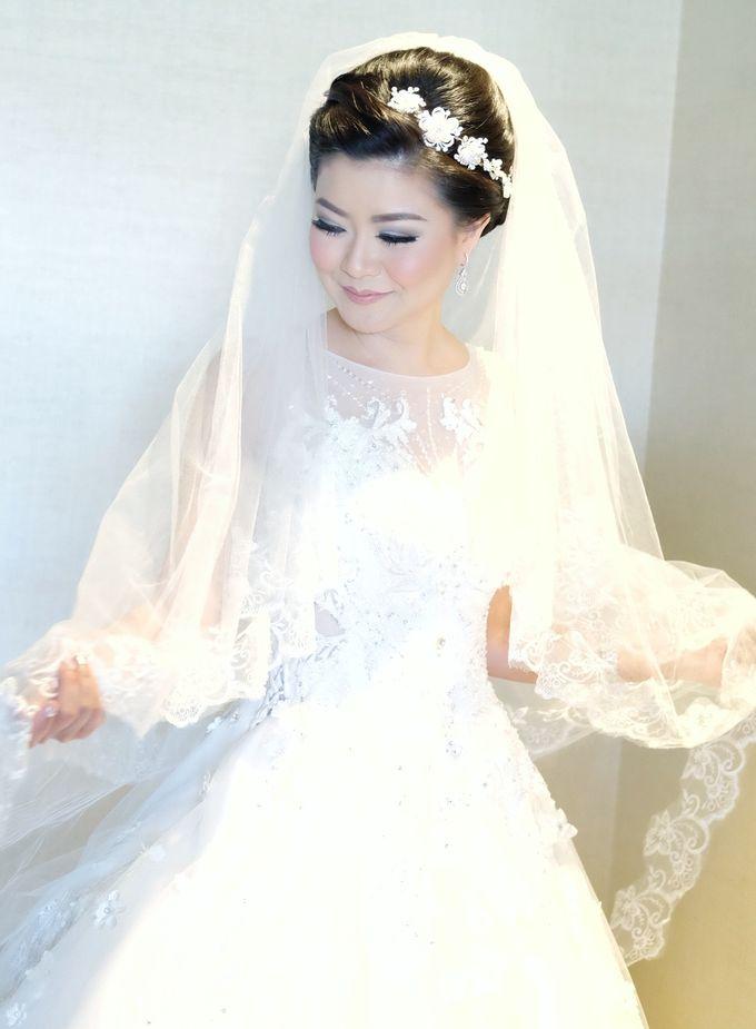 Bridal Makeup for Melinda by Beyond Makeup Indonesia - 004