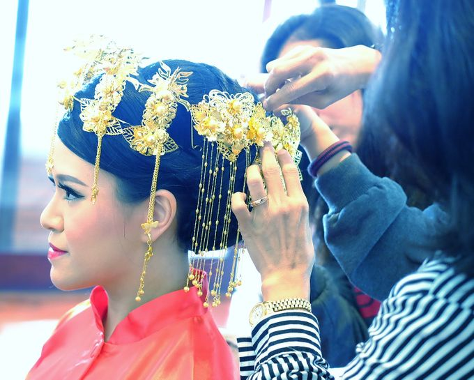 The Bride Ms.Melissa from Kuala Lumpur by Beyond Makeup Indonesia - 008
