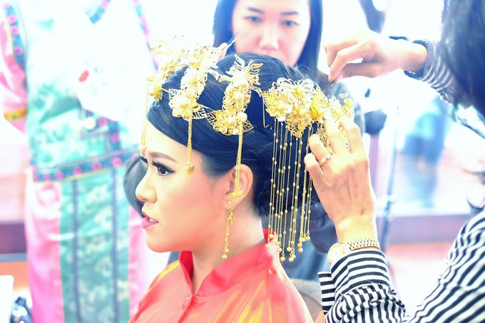 The Bride Ms.Melissa from Kuala Lumpur by Beyond Makeup Indonesia - 005