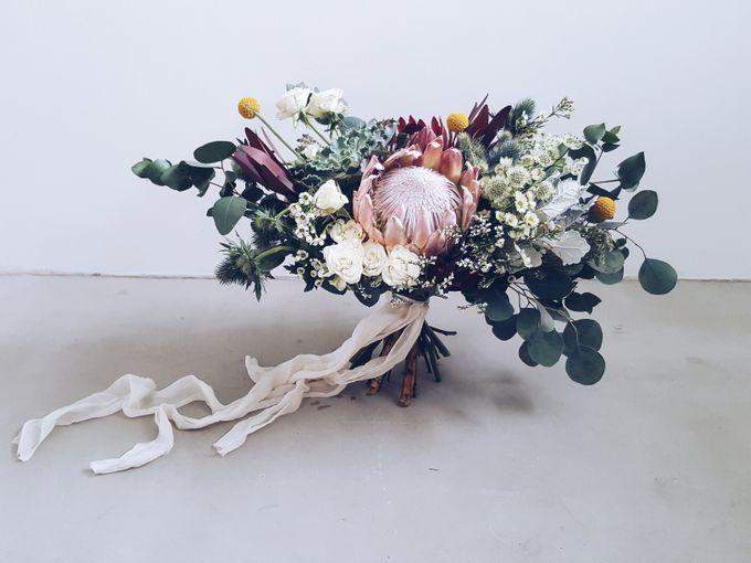 Bridal Bouquets by Ever & Blue Floral Design - 036